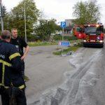 14. Maj. 2019 – Forurening På Nørremarksvej I Egholt Ved Jordrup.