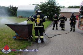 22. Jun. 2019 – Brand I Container På Kærmindevej i Vamdrup.
