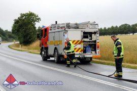 5. Jul. 2019 – Forurening På Koldingvej I Lunderskov.