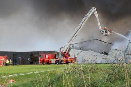 1. Okt. 2019 – Storbrand På Thorsmindevej / Industrivej i Børkop.