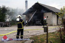 29. Apr. 2020 – Bygningsbrand På Gåskærvej I Vamdrup.