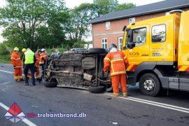 28. Maj. 2019 – Færdselsuheld Med Fastklemte På Haderslevvej I Skodborg.