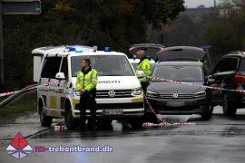 16. Okt. 2019 – Muligt Stenkast På Motorvejen Ved Christiansfeld.