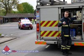12. Maj. 2020 – Brand I Udsugning På Nagbølvej I Lunderskov.