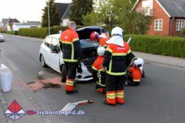 14. Maj. 2020 – Mindre Forurening Efter Færdselsuheld På Hovedgaden I Jordrup.