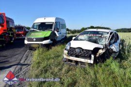 25. Jun. 2020 – Færdselsuheld Med Fastklemte På Frørupvej Ved Stepping.