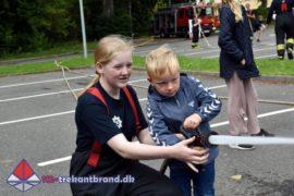 28. Jul. 2020 – Kolding Ungdomsbrandkorps På Besøg Hos Christiansfeld Skole.
