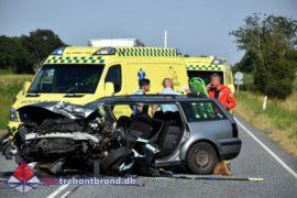 17. Aug. 2020 – Alvorligt Færdselsuheld Med Fastklemte På Koldingvej I Vamdrup.