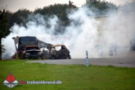 23. Sep. 2020 – Bilbrand På Koldingvej I Vamdrup.